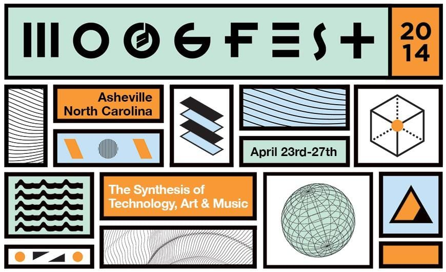 Moogfest 2014 Announces Daytime Presenters Including Futurists, Musicians, Scientists, Authors, Filmmakers, and Pioneers of Electronic Music Instrument Design